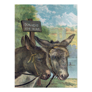 Donkeys For Hire Poster