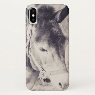 Donkey's head 001 iPhone x case