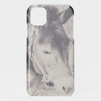 Donkey's head 001 iPhone 11 case