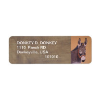 Donkeyville Address labels
