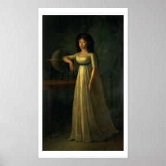 Donna Joaquina Tellez-Giron, daughter of the Duke Poster