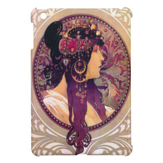 Donna Orechini by Alphonse Mucha Case For The iPad Mini