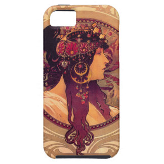 Donna Orechini by Alphonse Mucha iPhone 5 Cover