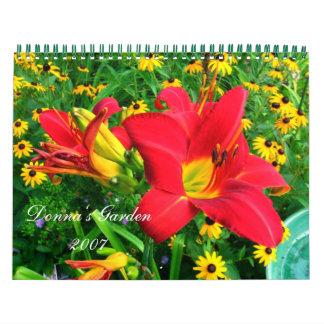 Donna's Garden 2007 Calendar