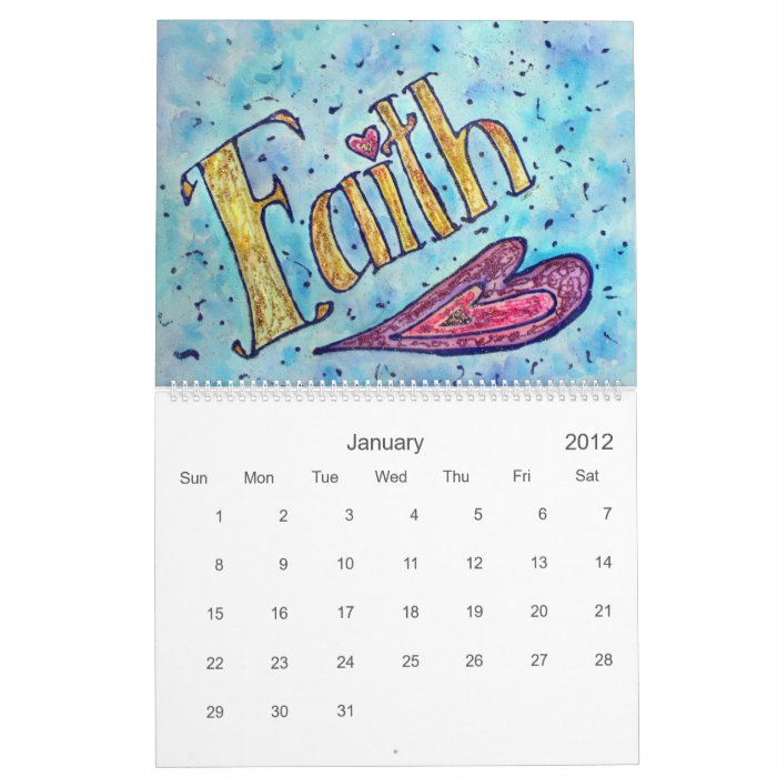 Calendar Word Art : Donnabellas angels word art calendar zazzle