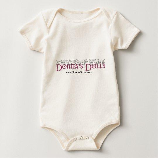 Donna's Dolls Baby Bodysuit