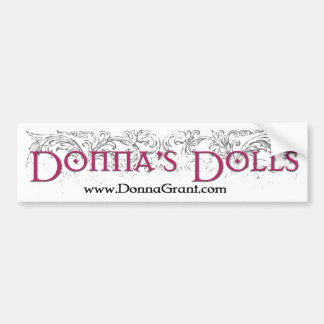 Donna's Dolls Bumper Stickers
