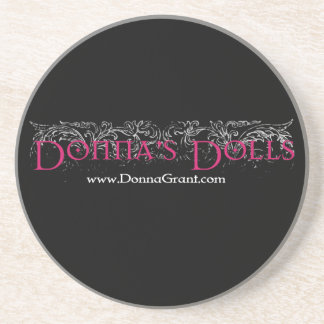 Donna's Dolls Beverage Coasters
