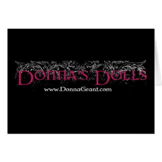 Donna's Dolls Greeting Card