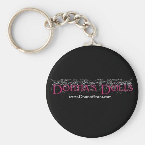 Donna's Dolls Keychain