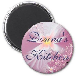 Donna's Kitchen Magnet magnet