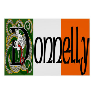 Donnelly Celtic Dragon Print
