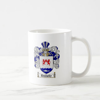 DONNELLY FAMILY CREST -  DONNELLY COAT OF ARMS COFFEE MUG