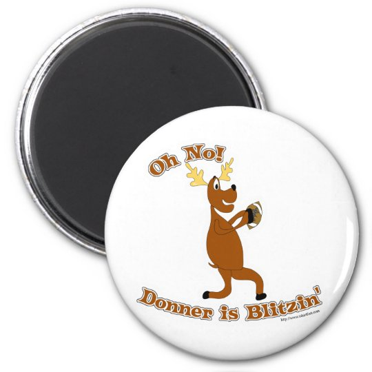 Donner is Blitzen! Magnet
