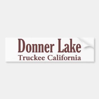 Donner Lake Bumper Sticker
