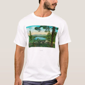 Donner Lake, California from Ridge T-Shirt