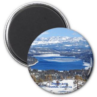 Donner Lake California Magnet