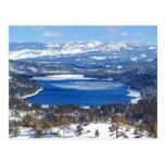 Donner Lake California Postcard