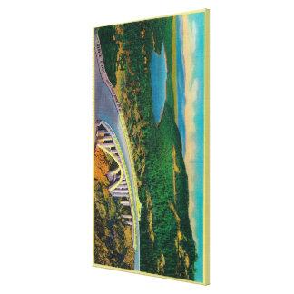 Donner Memorial Bridge and Canvas Prints