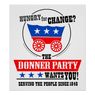 Donner Party Poster