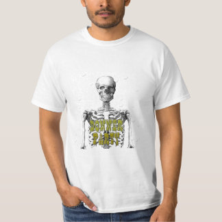 donner party skeleton tshirts