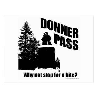 Donner Pass Postcard