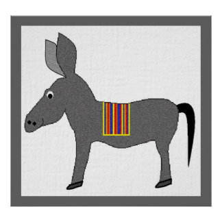 Donnie Donkey Poster