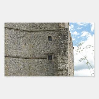 Donnington Castle Rectangular Sticker