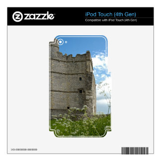 Donnington Castle Decal For iPod Touch 4G