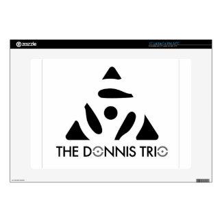 Donnis Trio Merch Laptop Decal