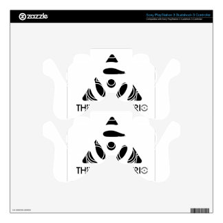 Donnis Trio Merch PS3 Controller Decals