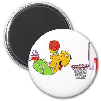 Donny Dog- Basketball Magnet