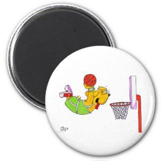 Donny Dog- Basketball Magnets