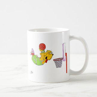 Donny Dog- Basketball Coffee Mugs