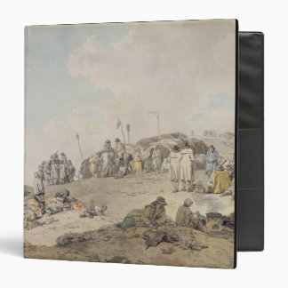 Donnybrook Fair, 1782 (pen, ink and w/c on paper) 3 Ring Binder