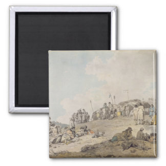 Donnybrook Fair, 1782 (pen, ink and w/c on paper) Magnet