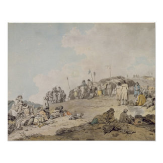 Donnybrook Fair, 1782 (pen, ink and w/c on paper) Poster