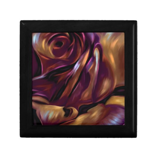 Donnybrook Rose - Abstract Floral Art Giftbox Gift Box