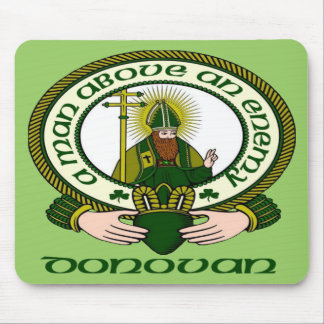 Donovan Clan Motto Mouse Pad