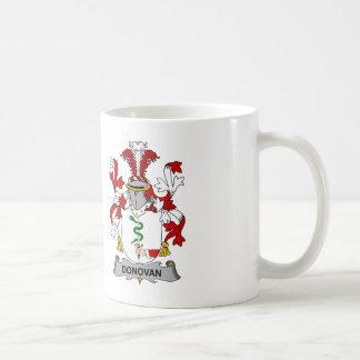 Donovan Family Crest Coffee Mug