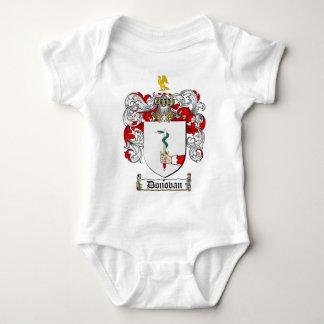 DONOVAN FAMILY CREST -  DONOVAN COAT OF ARMS INFANT CREEPER