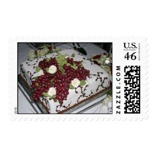 Donovan Wedding Cake stamp