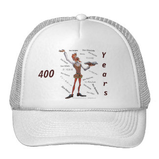 DONQUIJOTE- Cap - 400 Years gorra visera Trucker Hat