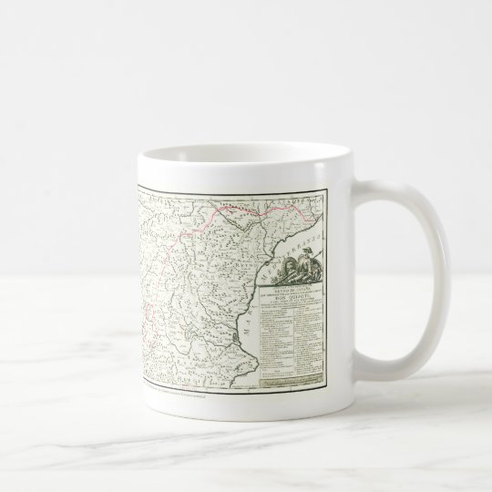 DONQUIXOTE ROUTE Map TAZA Cervantes Coffee Mug Zazzlecom