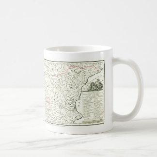 DONQUIXOTE ROUTE Map - TAZA- Cervantes Mugs
