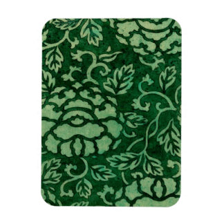 Donsu Damask Print with Peony Arabesque 1825 Magnet
