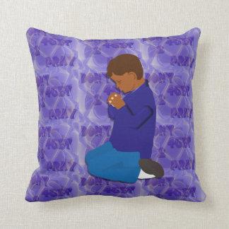 Don't 4Get 2 Pray Boy Throw Pillow