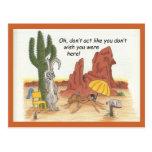 Dont Act Like Postcard