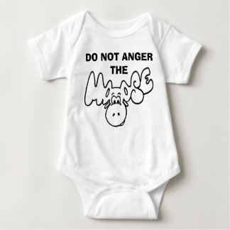 Don't anger the moose tee shirt