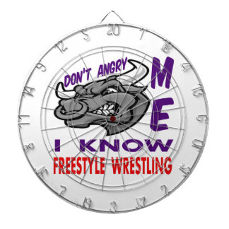 Don't angry me, i know Freestyle Wrestling. Dart Boards